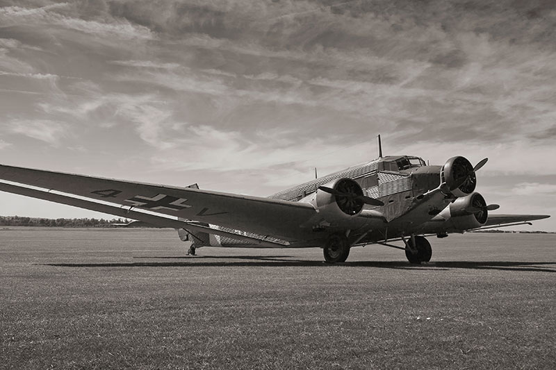 Junkers Ju 52-3M. Image available from Simon Westwood of Fly-by-Light Photography.