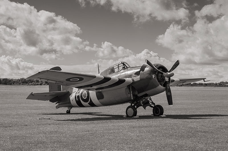 Grumman Martlet. Image available from Simon Westwood of Fly-by-Light Photography.