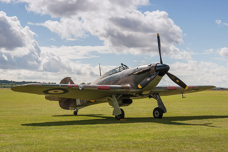 Hawker Hurricane. Image available from Simon Westwood of Fly-by-Light Photography.