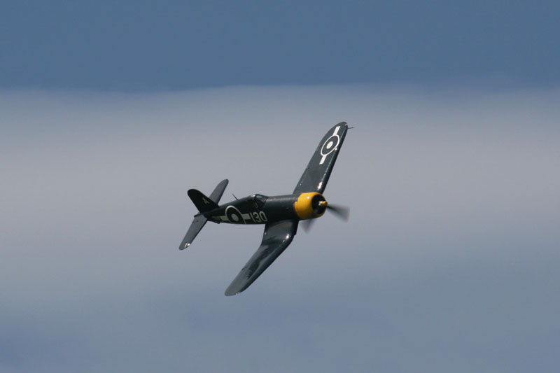Chance-Vought Corsair. Image available from Simon Westwood of Fly-by-Light Photography.