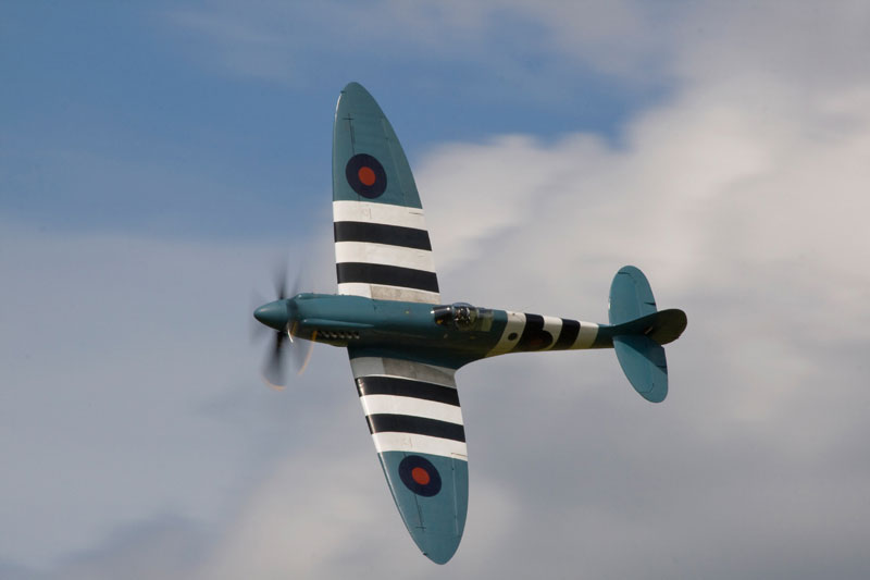 Spitfire PR Mk XIX - BBMF. Image available from Simon Westwood of Fly-by-Light Photography.