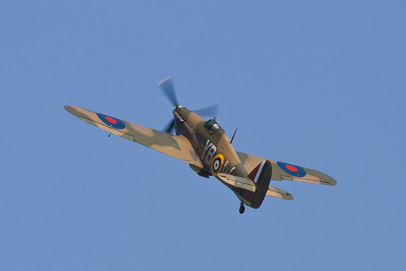 Hawker Hurricane LF363. Image available from Simon Westwood of Fly-by-Light Photography.