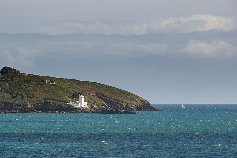 Saint Anthony Head Lighthouse. Image available from Simon Westwood of Fly-by-Light Photography.