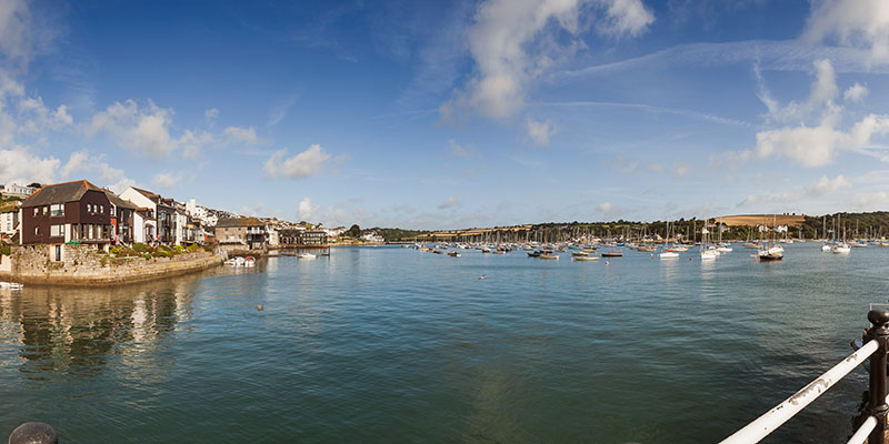 Falmouth Harbour. Image available from Simon Westwood of Fly-by-Light Photography.