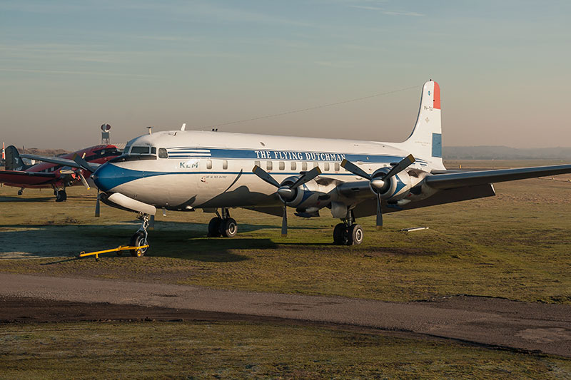 DC-6c - 'The Flying Dutchman'. Image available from Simon Westwood of Fly-by-Light Photography.