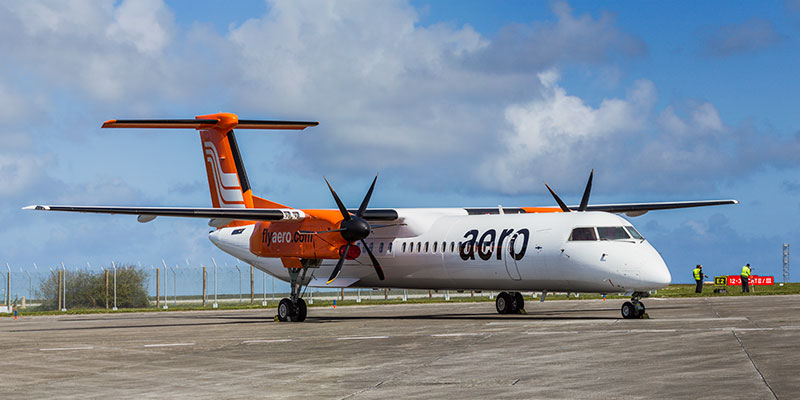 Barbardier (DHC) Dash 8-300. Image available from Simon Westwood of Fly-by-Light Photography.