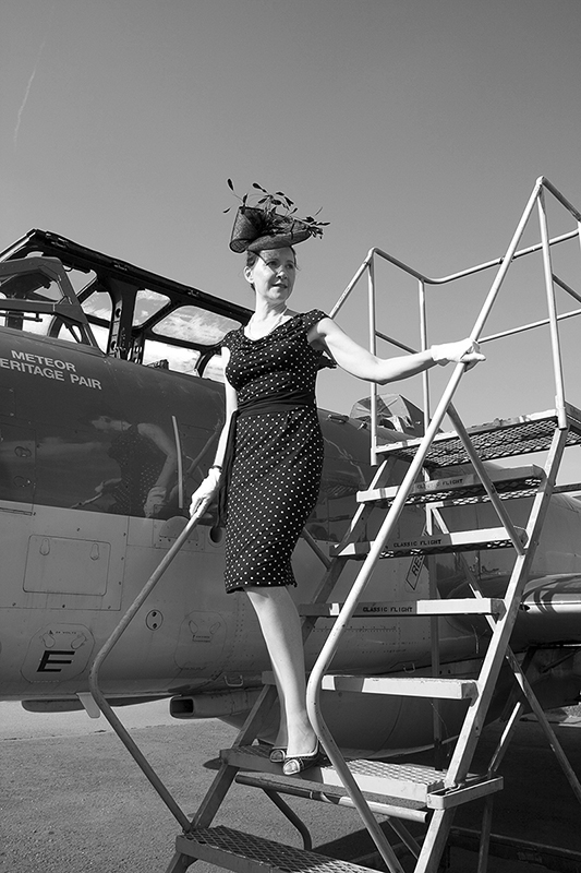 1950s chic. Image available from Simon Westwood of Fly-by-Light Photography.