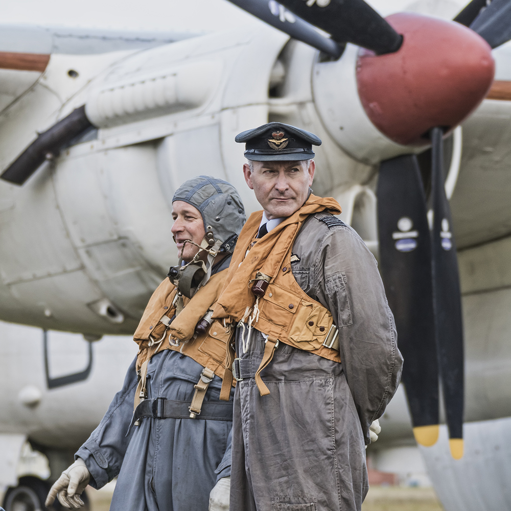 Shackleton Crew. Image available from Simon Westwood of Fly-by-Light Photography.