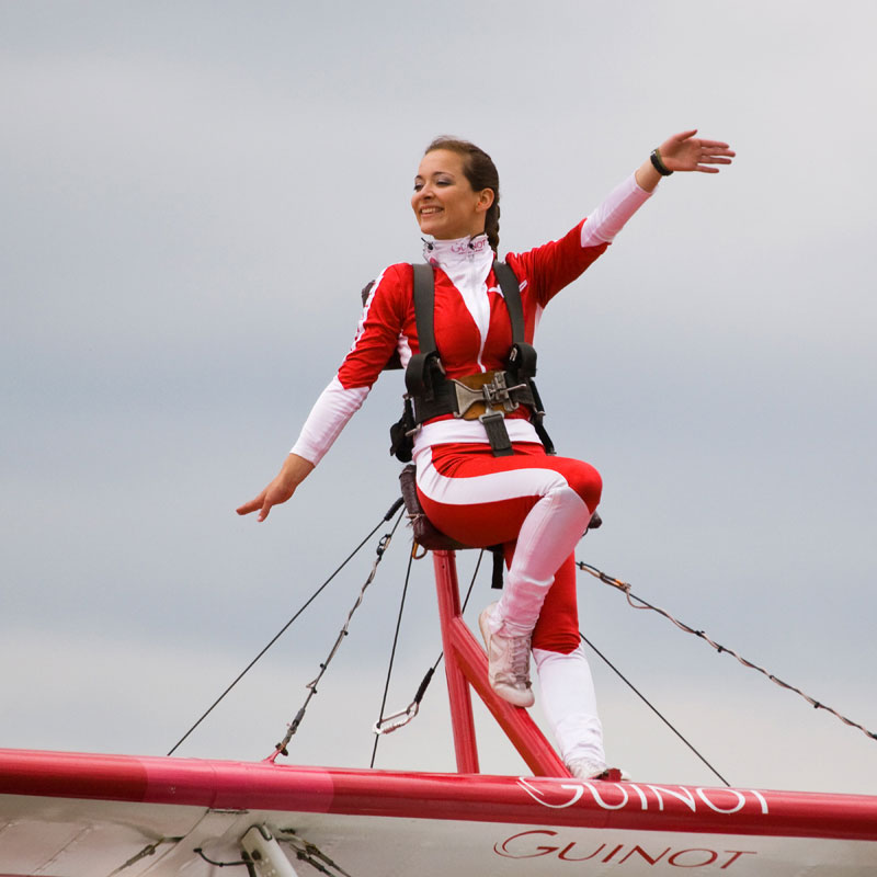 Team Guinot Wing-Walker. Image available from Simon Westwood of Fly-by-Light Photography.