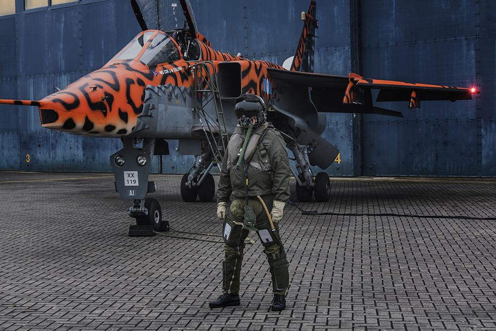 Jaguar Pilot. Image available from Simon Westwood of Fly-by-Light Photography.