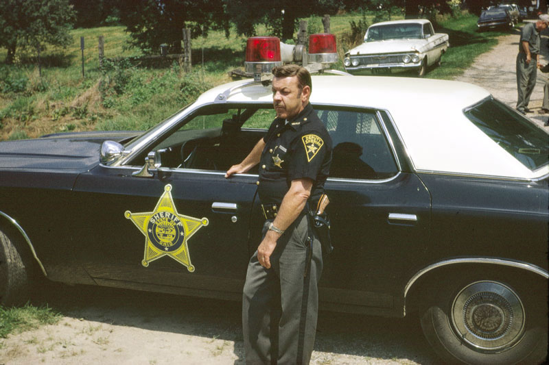 County Sheriff's Deputy 1974. Image available from Simon Westwood of Fly-by-Light Photography.