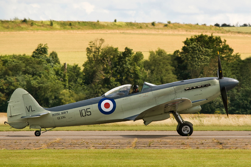 Seafire Mk.XVII. Image available from Simon Westwood of Fly-by-Light Photography.