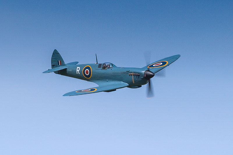 Spitfire PR Mk XI. Image available from Simon Westwood of Fly-by-Light Photography.