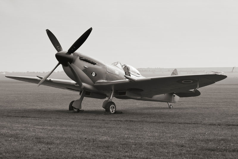 Spitfire Mk XVI. Image available from Simon Westwood of Fly-by-Light Photography.