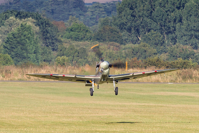 Spitfire Mk V. Image available from Simon Westwood of Fly-by-Light Photography.