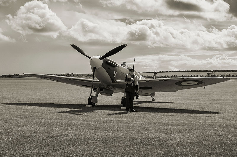 Spitfire Mk 1a - P7308. Image available from Simon Westwood of Fly-by-Light Photography.