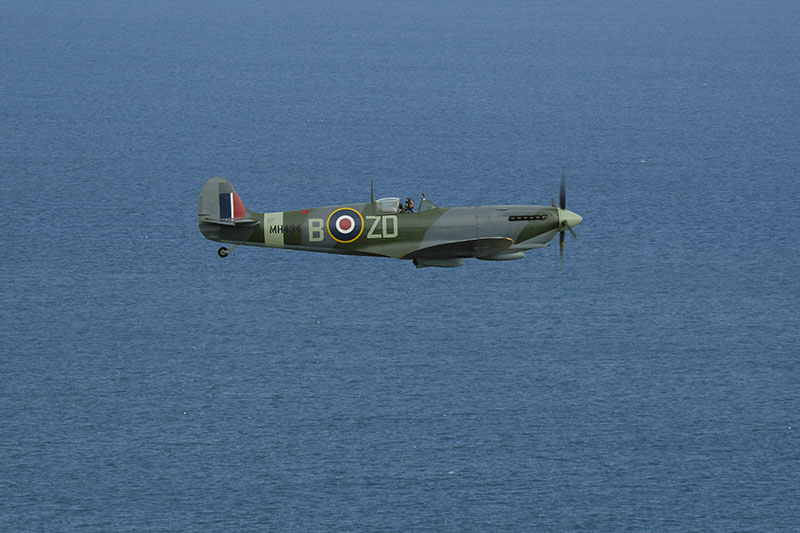 Spitfire Mk IX - MH434. Image available from Simon Westwood of Fly-by-Light Photography.