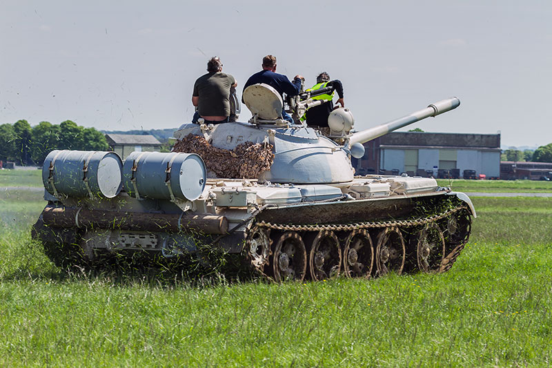 Russian T-55 Main Battle Tank. Image available from Simon Westwood of Fly-by-Light Photography.