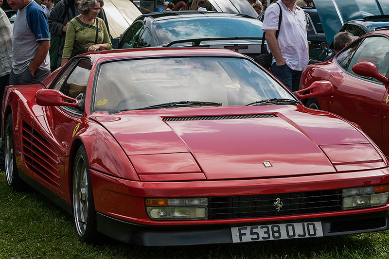 Ferrari Testarossa. Image available from Simon Westwood of Fly-by-Light Photography.