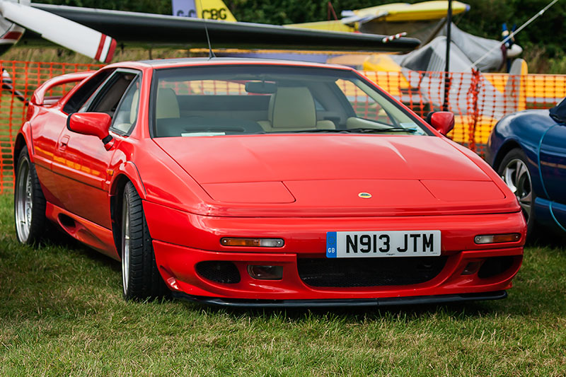 Lotus Esprit. Image available from Simon Westwood of Fly-by-Light Photography.