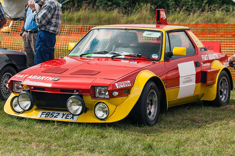 Fiat Abart Prototipo. Image available from Simon Westwood of Fly-by-Light Photography.