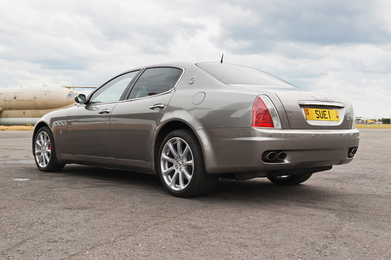 Maserati Quattroporte GT Executive. Image available from Simon Westwood of Fly-by-Light Photography.