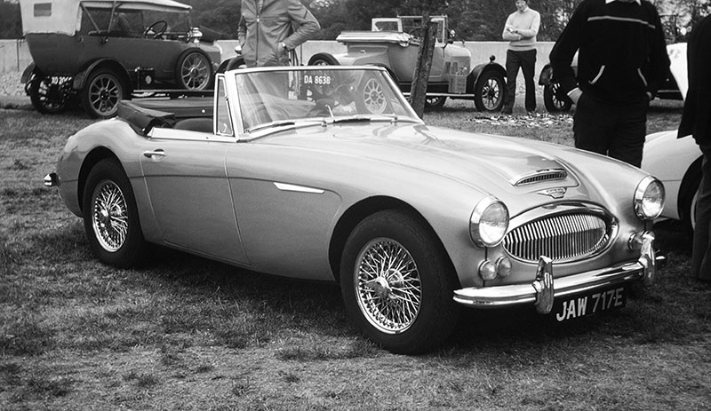 Austin-Healey 3000 Mk III. Image available from Simon Westwood of Fly-by-Light Photography.