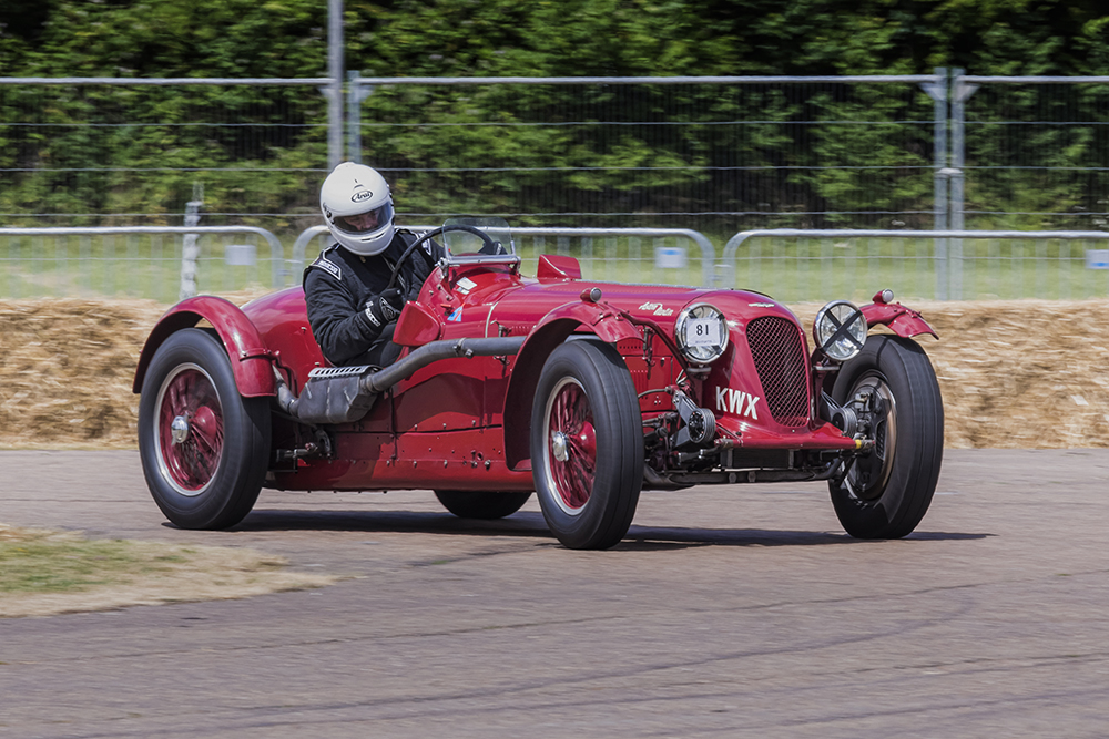 1939 Aston Martin 2 Litre Speed Model. Image available from Simon Westwood of Fly-by-Light Photography.